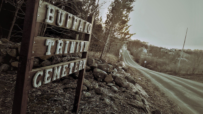 Buffalo Trinity Cemetery near Kewaskum