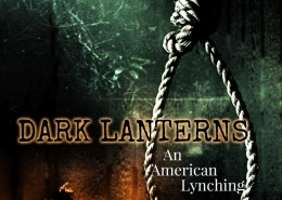 Dark Lanterns trie crime book cover design