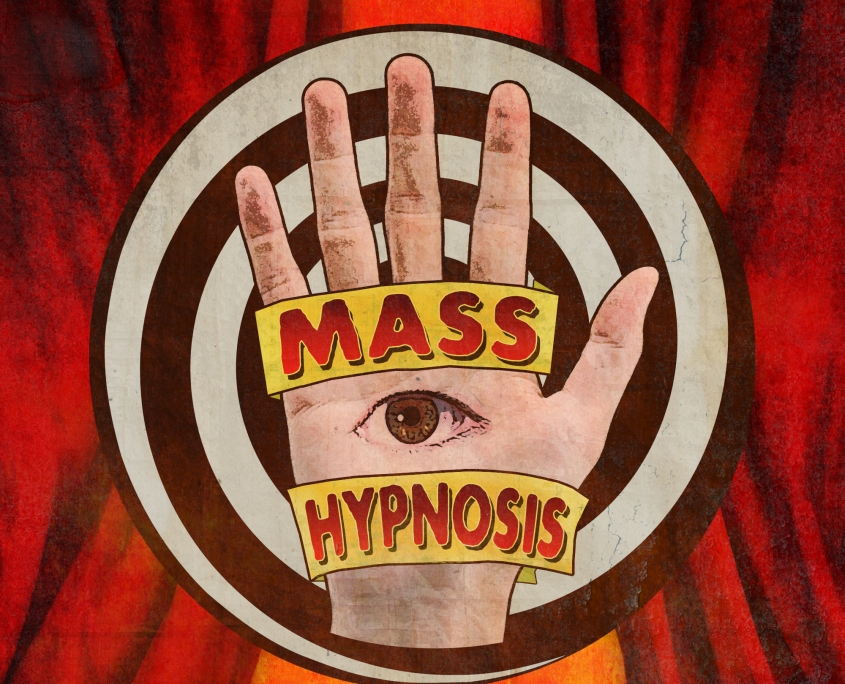 Mass Hypnosis logo design