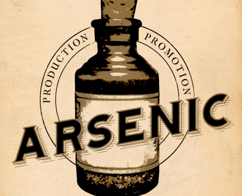 Arsenic Productions logo design