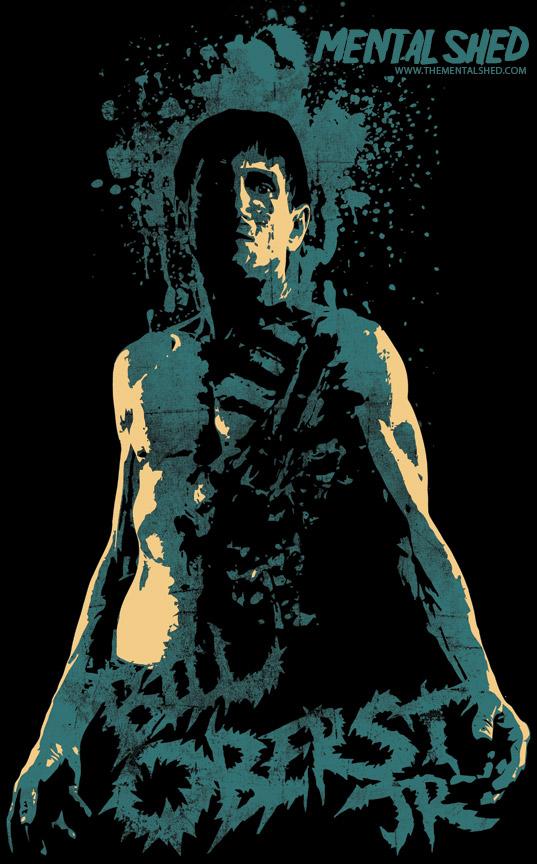 Bill Oberst Jr. t-shirt design