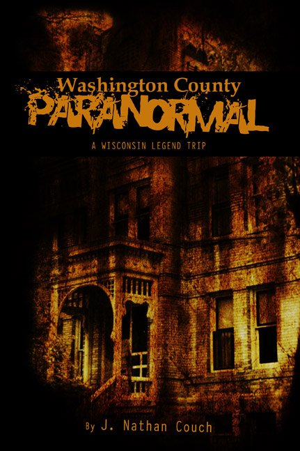 Washington County Paranormal book cover design