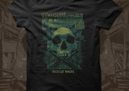 Cult of Weird Cannibal Isles t-shirt design