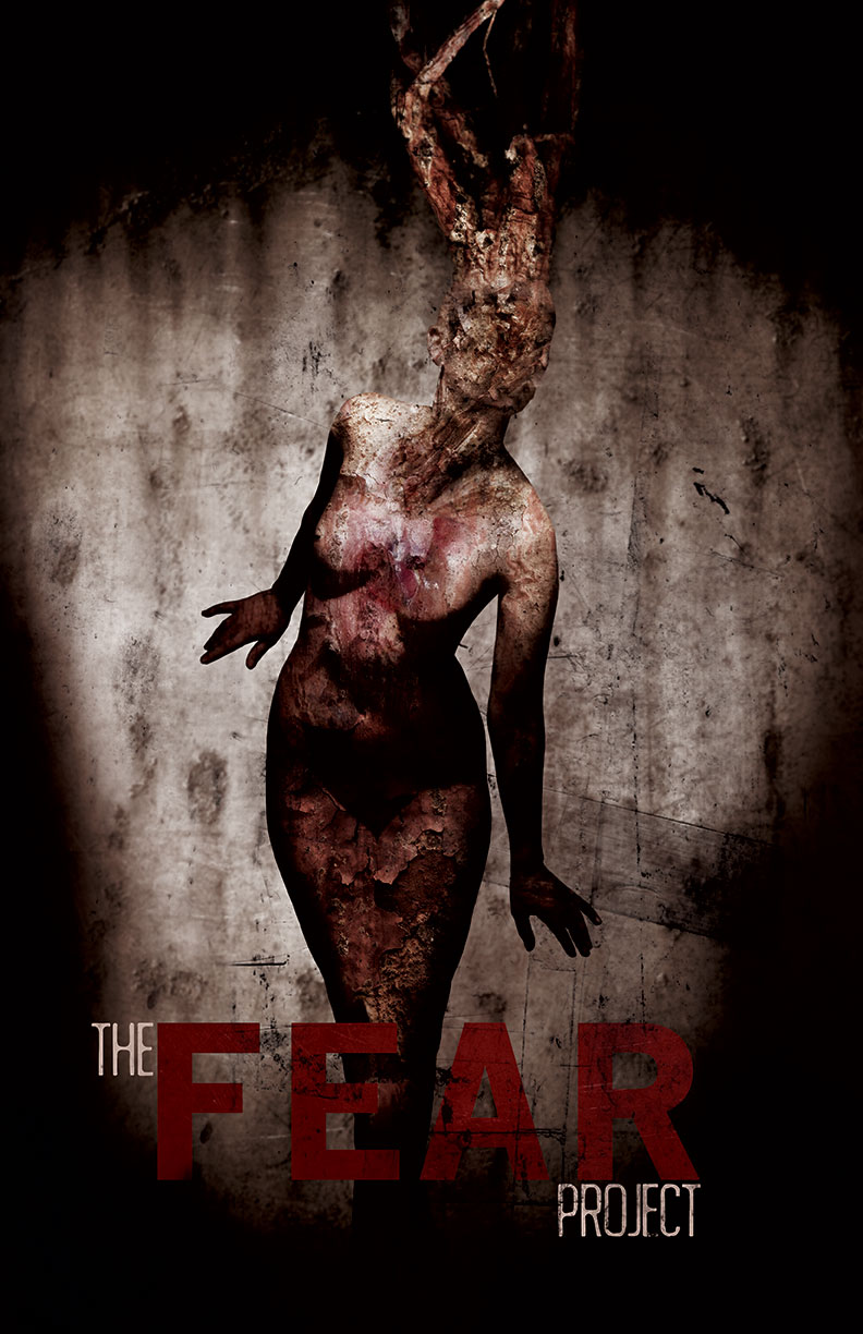 The Fear Project horror movie poster design