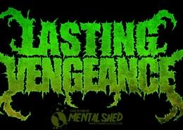 Lasting Vengeance metal band logo design