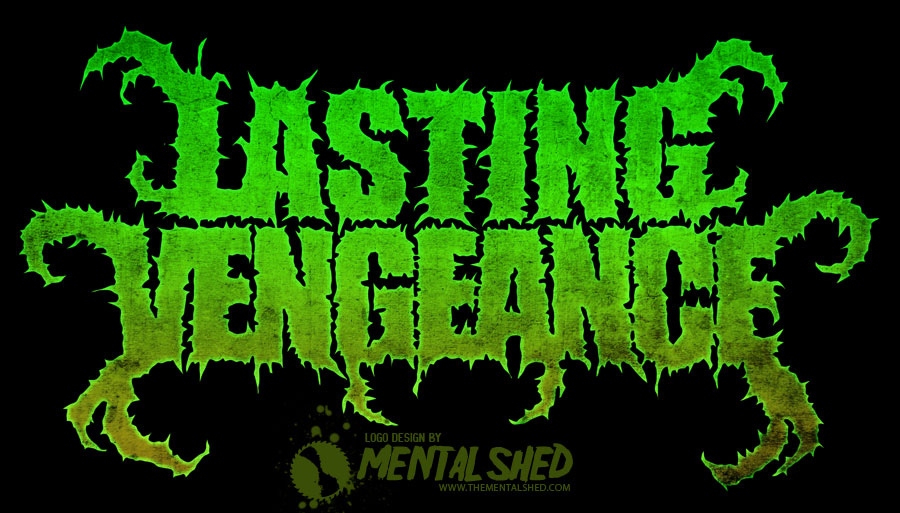 Lasting Vengeance metal band logo design