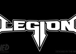 Legion thrash metal band logo design