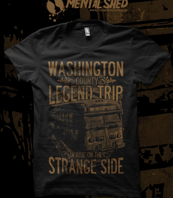 Washington County Legend Trip t-shirt design