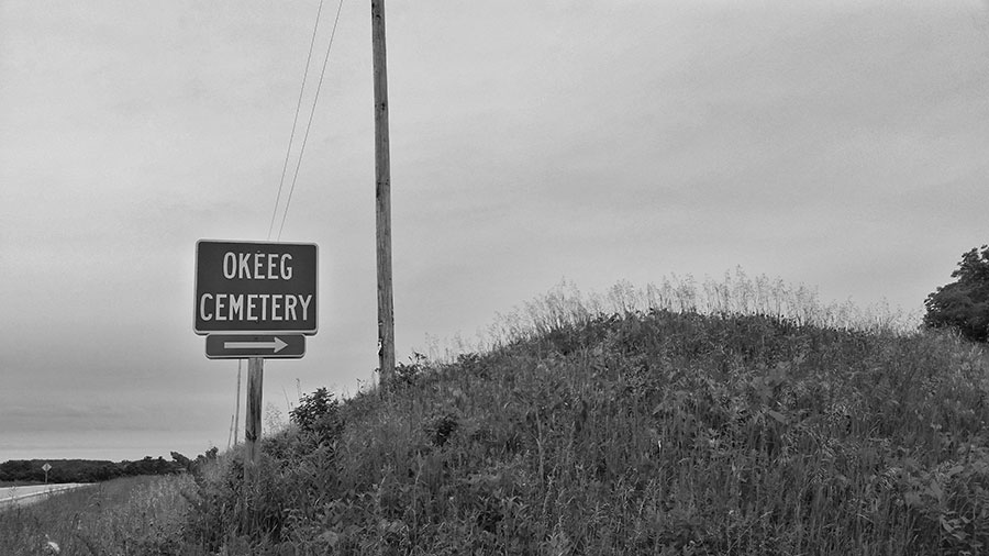 Okeeg Cemetery outside Columbus, Wisconsin