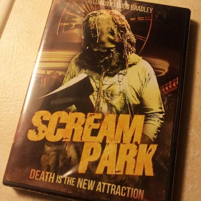 Scream Park DVD