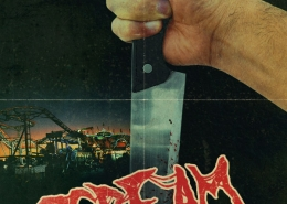 Scream Park horror movie poster design