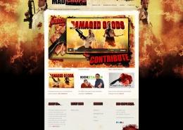 Mad Chops Media website design