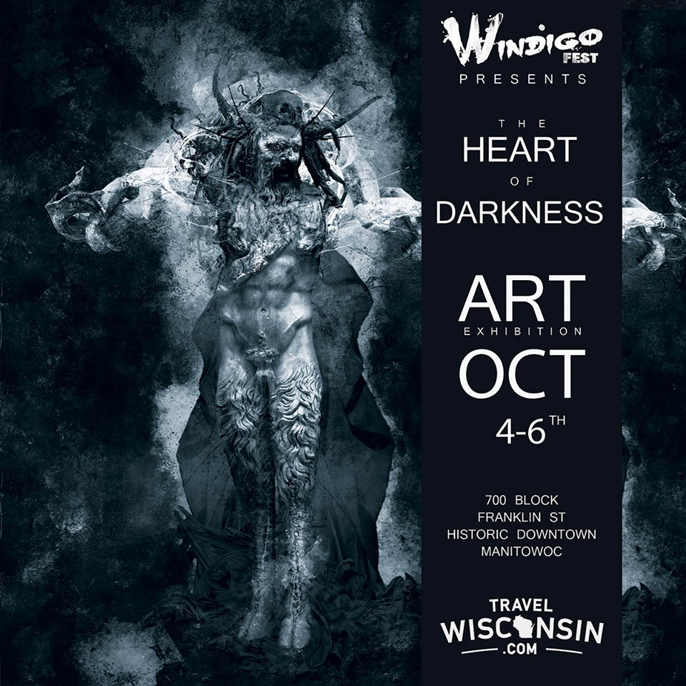 Heart of Darkness art exhibition at Windigo Fest